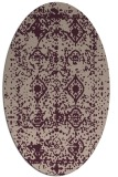 rug #1109223 | oval damask rug