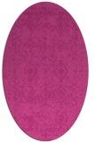 rug #1109280 | oval faded rug