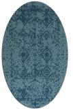 rug #1109368 | oval damask rug