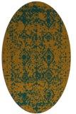 rug #1109388 | oval traditional rug