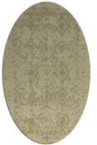 rug #1109401 | oval faded rug