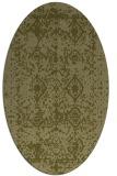 rug #1109406   oval light-green popular rug
