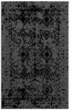 rug #1109434 |  black damask rug
