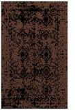 rug #1109442 |  brown traditional rug