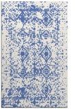 rug #1109474 |  blue damask rug