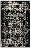 rug #1109490    blue-green damask rug