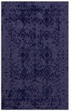 rug #1109514 |  blue-violet traditional rug