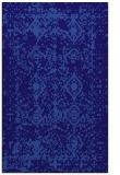 rug #1109530    blue-violet damask rug
