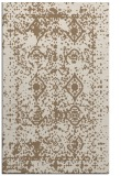 rug #1109582 |  mid-brown damask rug
