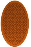 rug #110961 | oval flags rug