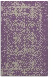 rug #1109610 |  purple damask rug