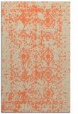 rug #1109638 |  orange faded rug