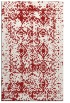 rug #1109686    red faded rug