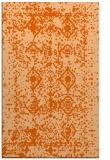 rug #1109698    red-orange faded rug