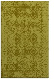 rug #1109762 |  light-green damask rug