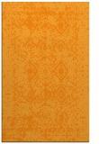 rug #1109786 |  light-orange traditional rug