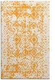 rug #1109790 |  light-orange damask rug