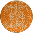 rug #1109794 | round beige traditional rug