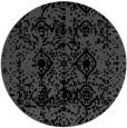 rug #1109802 | round black popular rug