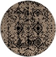 rug #1109806   round faded rug