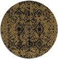 rug #1109822   round brown popular rug