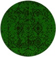 rug #1109855 | round faded rug