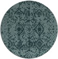 rug #1109873 | round faded rug