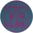 rug #1109879 | round faded rug