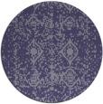 rug #1109886   round damask rug