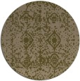 rug #1109910 | round mid-brown traditional rug