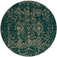 rug #1109913 | round damask rug