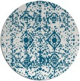 rug #1109916 | round faded rug