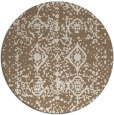 rug #1109951 | round faded rug