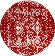 rug #1110047 | round faded rug