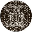 rug #1110094   round brown rug