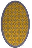 rug #111011   oval borders rug