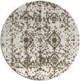 rug #1110116   round faded rug