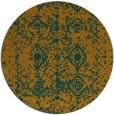 rug #1110124 | round traditional rug
