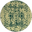 rug #1110127 | round faded rug
