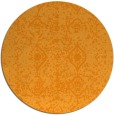 rug #1110154 | round light-orange traditional rug