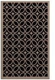 rug #111061    beige circles rug
