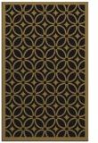 rug #111069 |  black borders rug