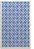 rug #111089 |  blue borders rug