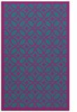 rug #111113 |  pink circles rug