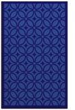 rug #111153 |  blue-violet circles rug