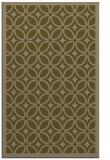 rug #111169 |  brown circles rug