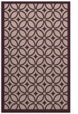 rug #111205 |  pink circles rug