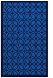rug #111217    blue circles rug