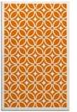 rug #111241 |  orange borders rug