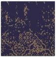 rug #1112478 | square blue-violet damask rug